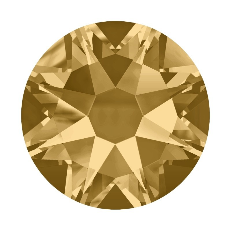 2058/2028 SS5 Light Colorado Topaz F (246) SWAROVSKI ELEMENTS