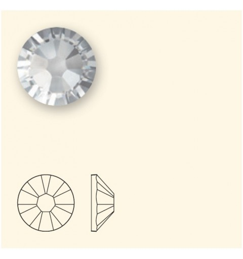 2058/2028 SS5 Light Grey Opal F (383) SWAROVSKI ELEMENTS
