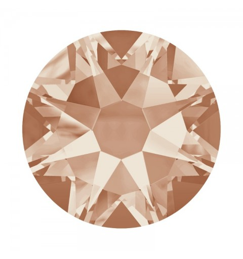 2058 SS12 Light Peach F (362) XILION Rose SWAROVSKI ELEMENTS