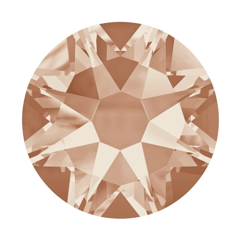2058 SS20 Light Peach F (362) XILION Rose SWAROVSKI ELEMENTS