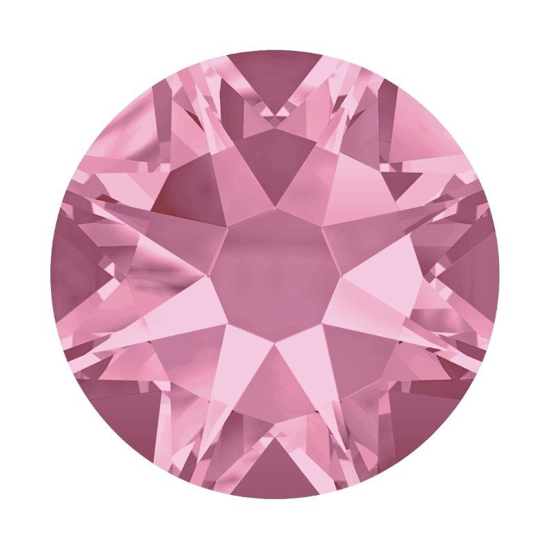 2058/2028 SS5 Light Rose F (223) SWAROVSKI ELEMENTS
