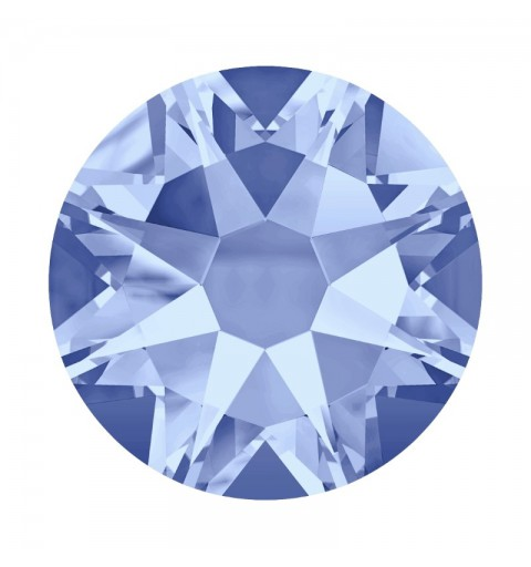 2058 SS12 Light Sapphire F (211) XILION Rose SWAROVSKI ELEMENTS