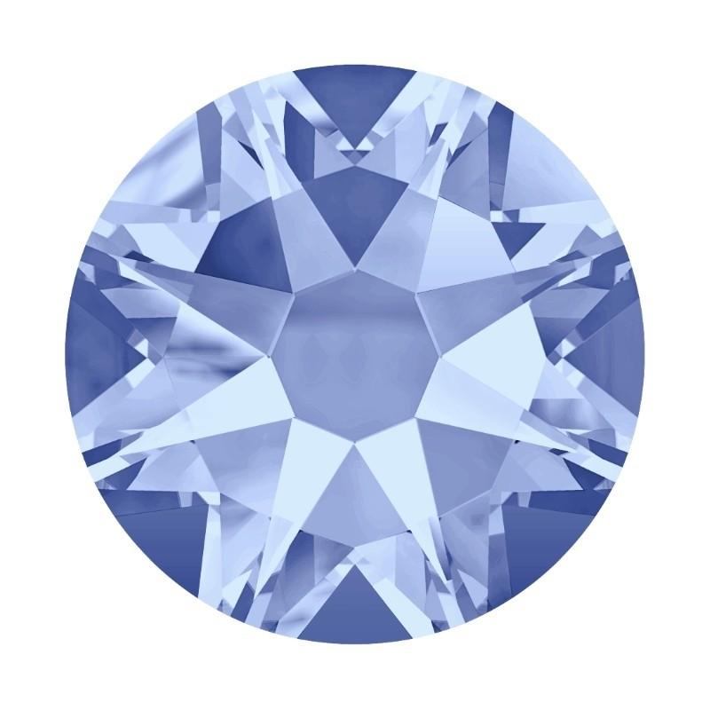 2058 SS20 Light Sapphire F (211) XILION Rose SWAROVSKI ELEMENTS