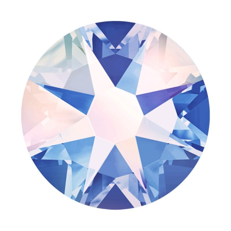 2058 SS5 Light Sapphire AB F (211) XILION Rose SWAROVSKI ELEMENTS
