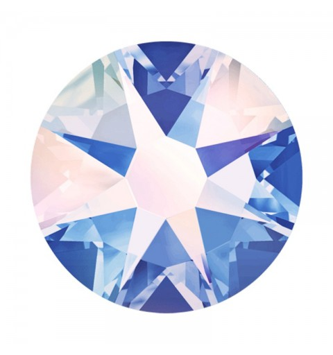 2058 SS20 Light Sapphire AB F (211) XILION Rose SWAROVSKI ELEMENTS