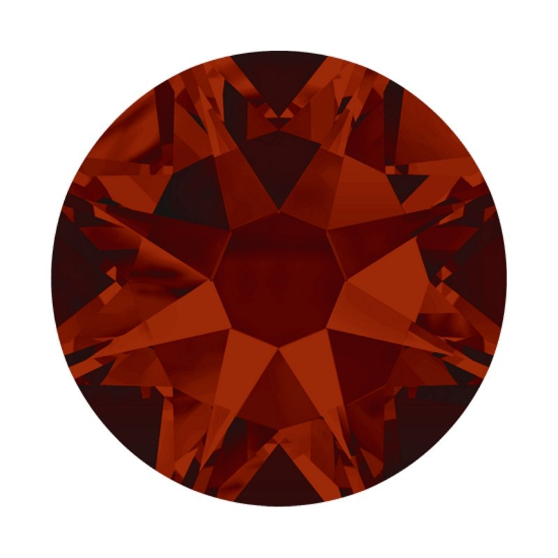2058 SS20 Light Siam SATIN F (227 SATIN) XILION Rose SWAROVSKI ELEMENTS