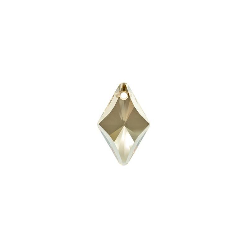 14MM Crystal Golden Shadow (001 GSHA) Romb Ripatsid 6320 SWAROVSKI ELEMENTS