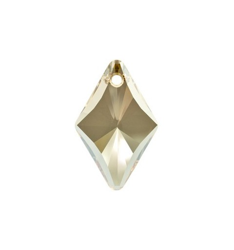 14MM Crystal Golden Shadow (001 GSHA) Rhombus Pendants 6320 SWAROVSKI ELEMENTS