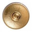 """Kuldne Kiil Topaz-AB kaunistamiseks Tšehhi klaas nupp 14""""(31,5 mm)"""