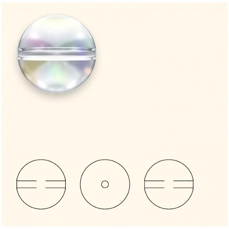 6MM Crystal (001) 5028/4 Crystal Globe Bead SWAROVSKI ELEMENTS