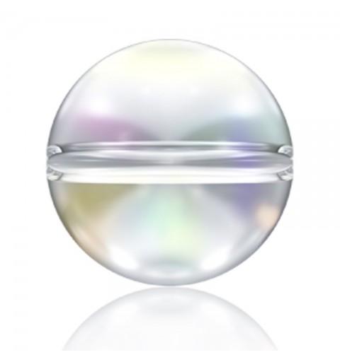 6MM Crystal AB (001 AB) 5028/4 Crystal Globe Бусины SWAROVSKI