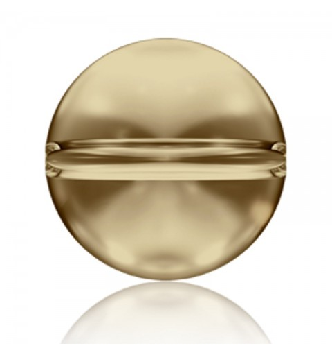 6MM Crystal Golden Shadow (001 GSHA) 5028/4 Crystal Globe Bead SWAROVSKI ELEMENTS