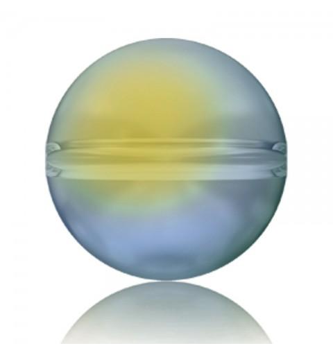 6MM Crystal Iridescent Green (001 IRIG) 5028/4 Crystal Globe Helmes SWAROVSKI ELEMENTS