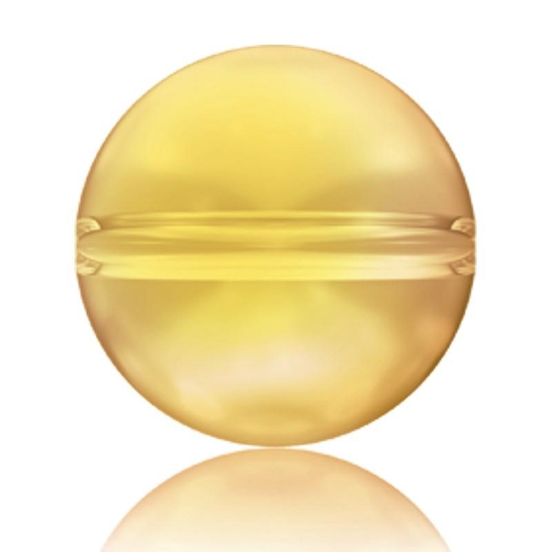 6MM Crystal Metallic Sunshine (001 METSH) 5028/4 Crystal Globe Helmes SWAROVSKI ELEMENTS