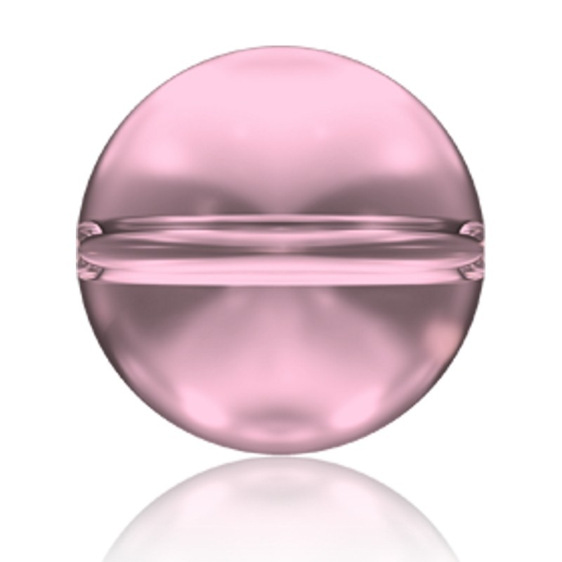 6MM Crystal Antique Pink (001 ANTP) 5028/4 Crystal Globe Bead SWAROVSKI ELEMENTS