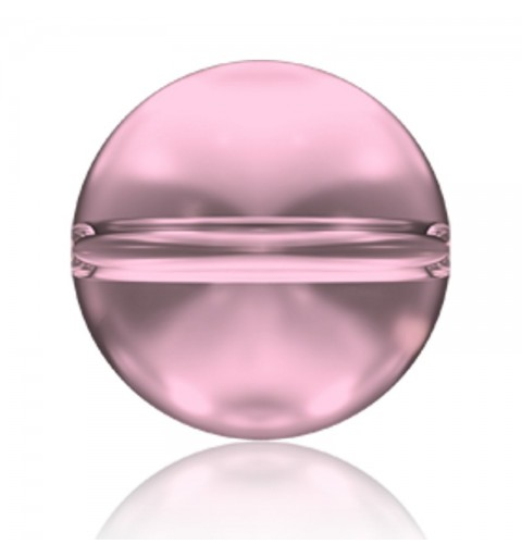 8MM Crystal Antique Pink (001 ANTP) 5028/4 Crystal Globe Bead SWAROVSKI ELEMENTS
