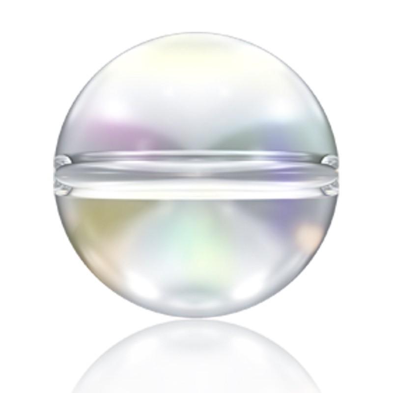 8MM Crystal AB (001 AB) 5028/4 Crystal Globe Bead SWAROVSKI ELEMENTS
