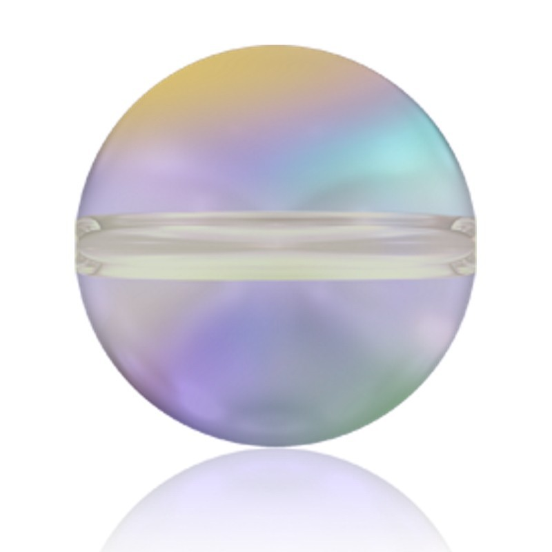 8MM Crystal Paradise Shine (001 PARSH) 5028/4 Crystal Globe Bead SWAROVSKI ELEMENTS
