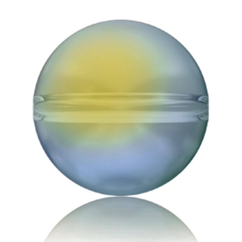 6MM Crystal Iridescent Green (001 IRIG) 5028/4 Crystal Globe Bead SWAROVSKI ELEMENTS