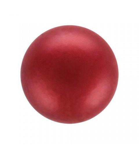 8MM Red (79500) Pärlmutter Ümmargune Pärl Preciosa