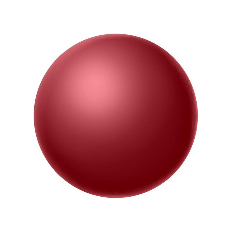 4MM Red (79500) Pärlmutter Ümmargune Pärl Preciosa