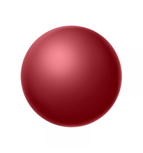 6MM Cranberry (79158) Nacre Pearl round Preciosa