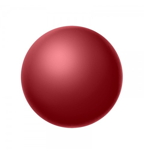 8MM Cranberry (79158) Nacre Pearl round Preciosa