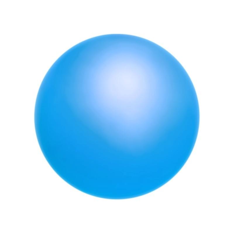 12MM Neon Sky Blue (76500) Pärlmutter Ümmargune Pärl Preciosa