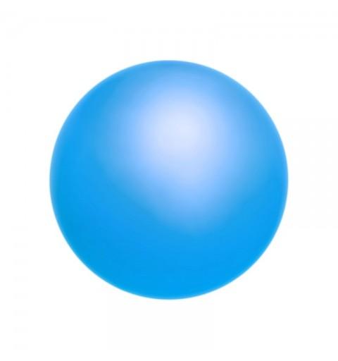 4MM Neon Sky Blue (76500) Pärlmutter Ümmargune Pärl Preciosa