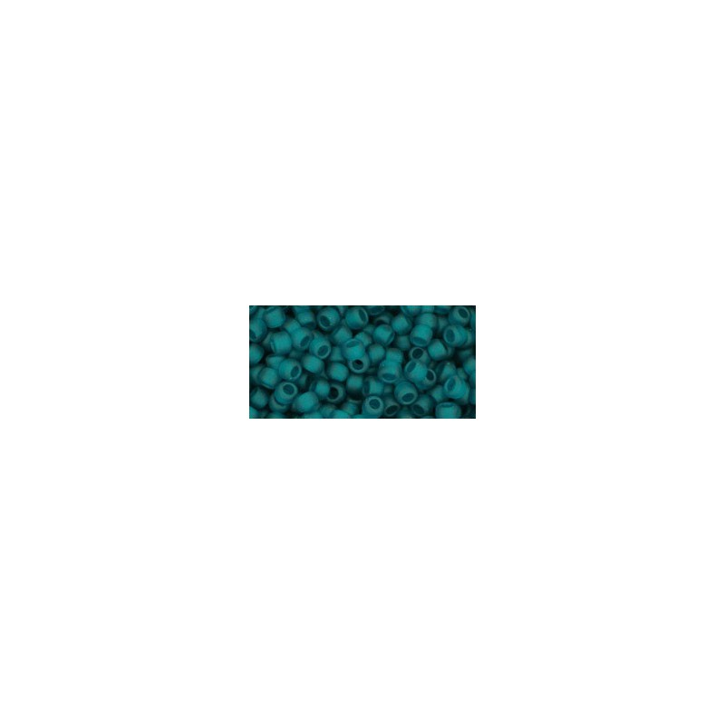 TR-08-7BDF Transparent-Frosted Teal TOHO SEED BEADS