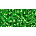 TR-08-25C Silver-Lined Ruby TOHO SEED BEADS
