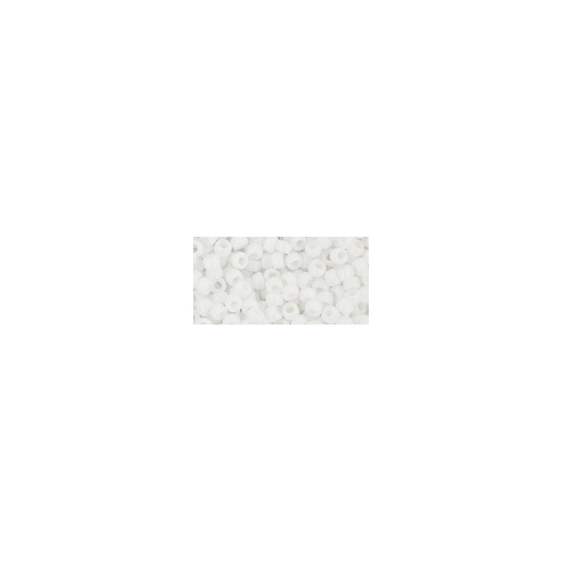 TR-08-41 Opaque White TOHO SEED BEADS