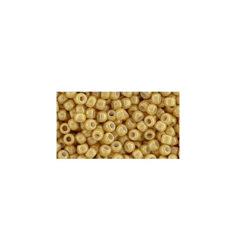 TR-08-123D Opaque-Lustered Dark Beige TOHO SEED BEADS