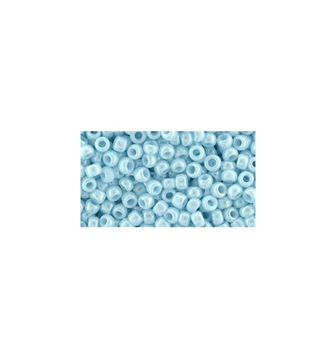 TR-08-124 Opaque-Lustered Pale Blue TOHO SEED BEADS