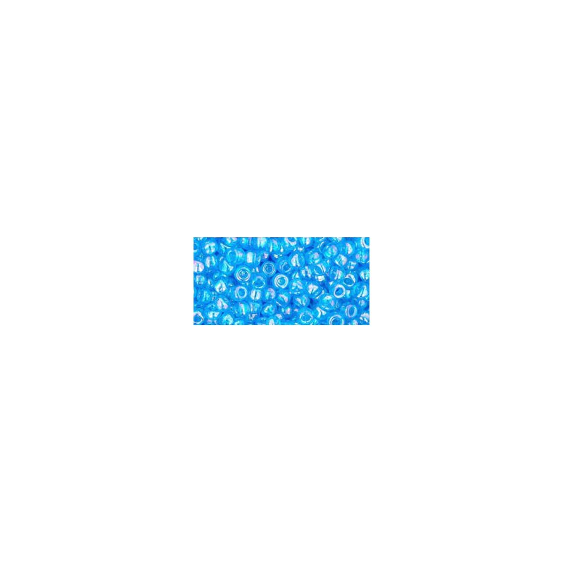 TR-08-163 Transparent-Rainbow Aquamarine TOHO SEED BEADS