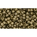 TR-08-204 Gold-Lustered Montana Blue TOHO SEED BEADS
