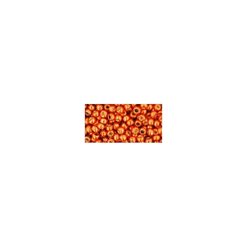 TR-08-PF562 PermaFinish - Galvanized Saffron TOHO SEED BEADS