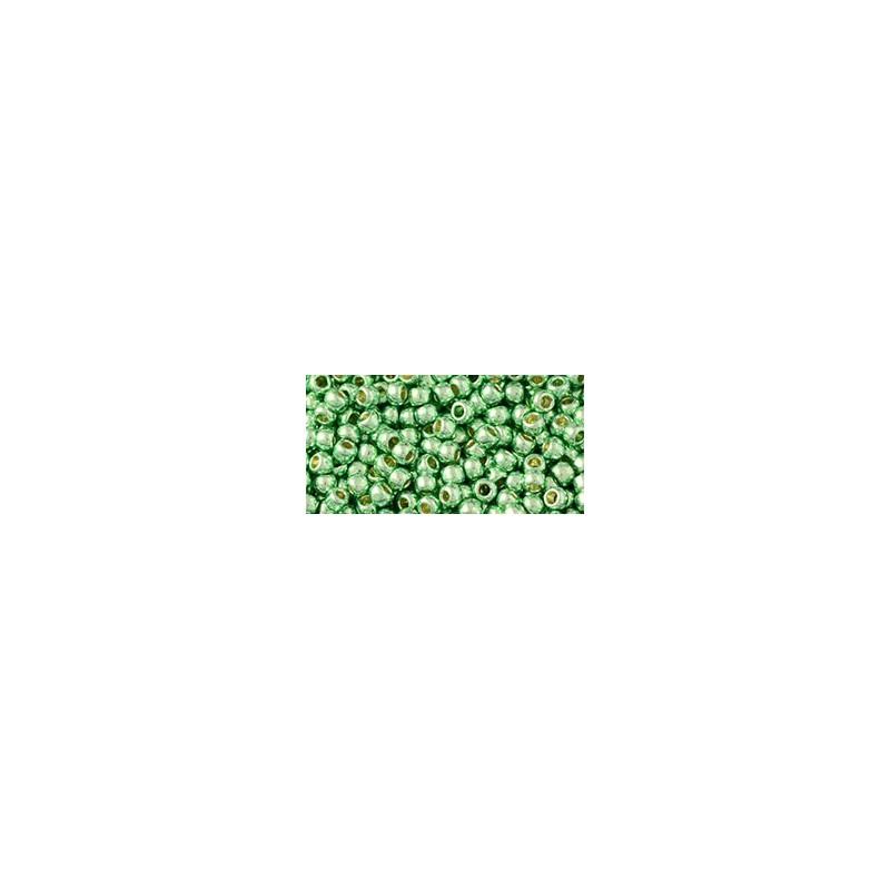 TR-08-PF570 PermaFinish - Galvanized Mint Green TOHO SEED BEADS