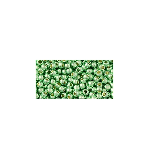 TR-08-PF570 PermaFinish - Galvanized Mint Green TOHO SEED BEADS
