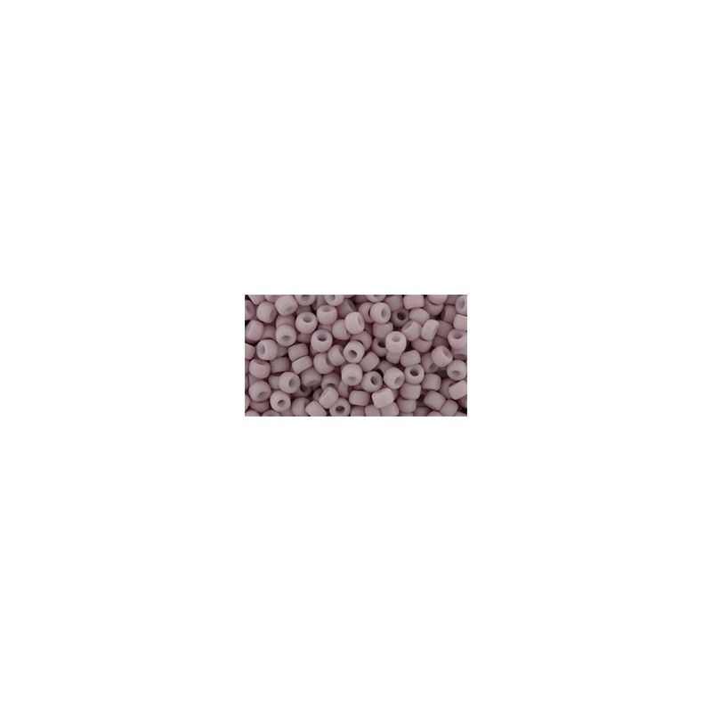 TR-08-762 Opaque-Pastel-Frosted Egg Shell TOHO SEED BEADS
