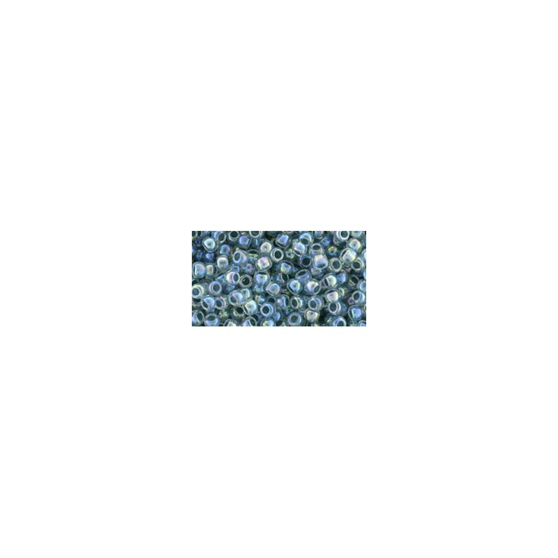 TR-08-773 Inside-Color Rainbow Crystal/Montana Blue-Lined TOHO SEED BEADS