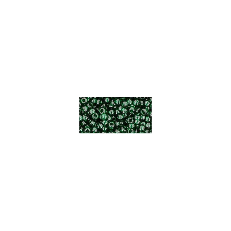 TR-08-939 Transparent Green Emerald TOHO SEED BEADS