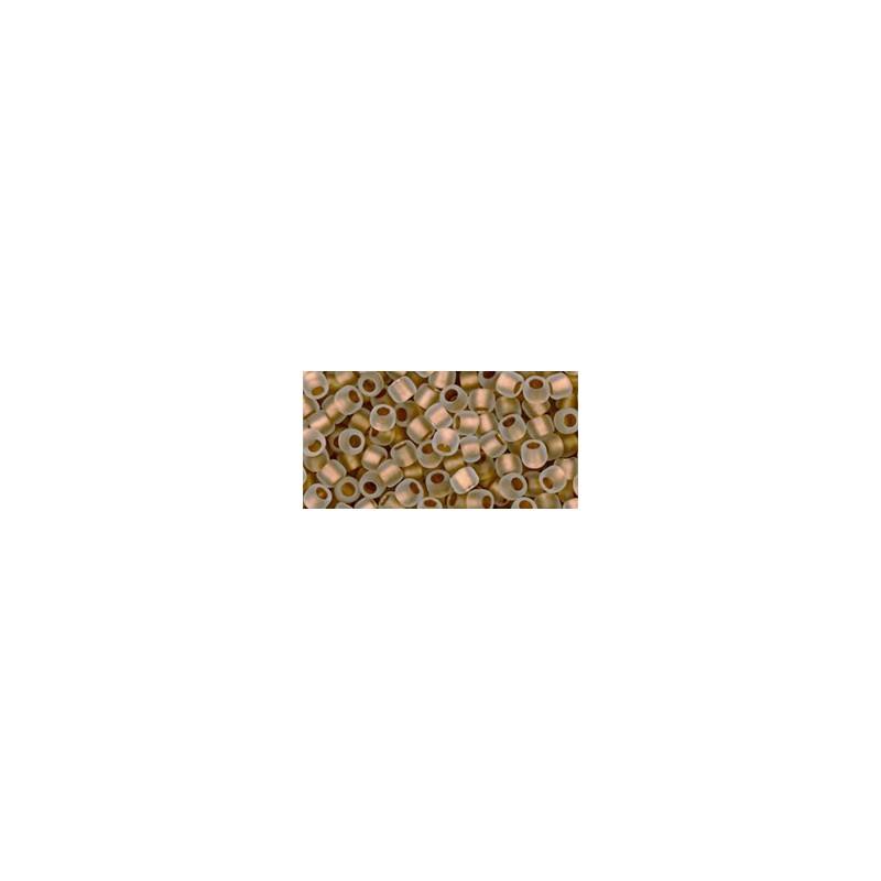 TR-08-989 Gold-Lined Crystal TOHO SEEMNEHELMEID