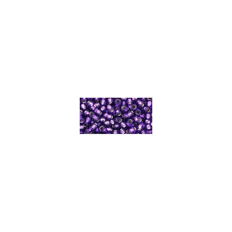 TR-08-2203 Silver-Lined Navy TOHO SEED BEADS