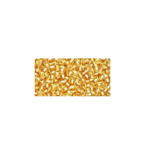 TR-11-22 Silver-Lined Light Topaz TOHO Seed Beads