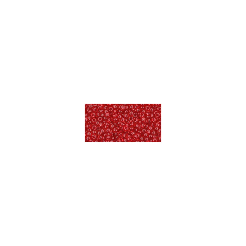 TR-11-1F TRANSPARENT-FROSTED CRYSTAL TOHO SEED BEADS