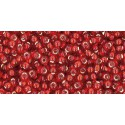 TR-11-25B Silver-Lined Siam Ruby TOHO Seed Beads