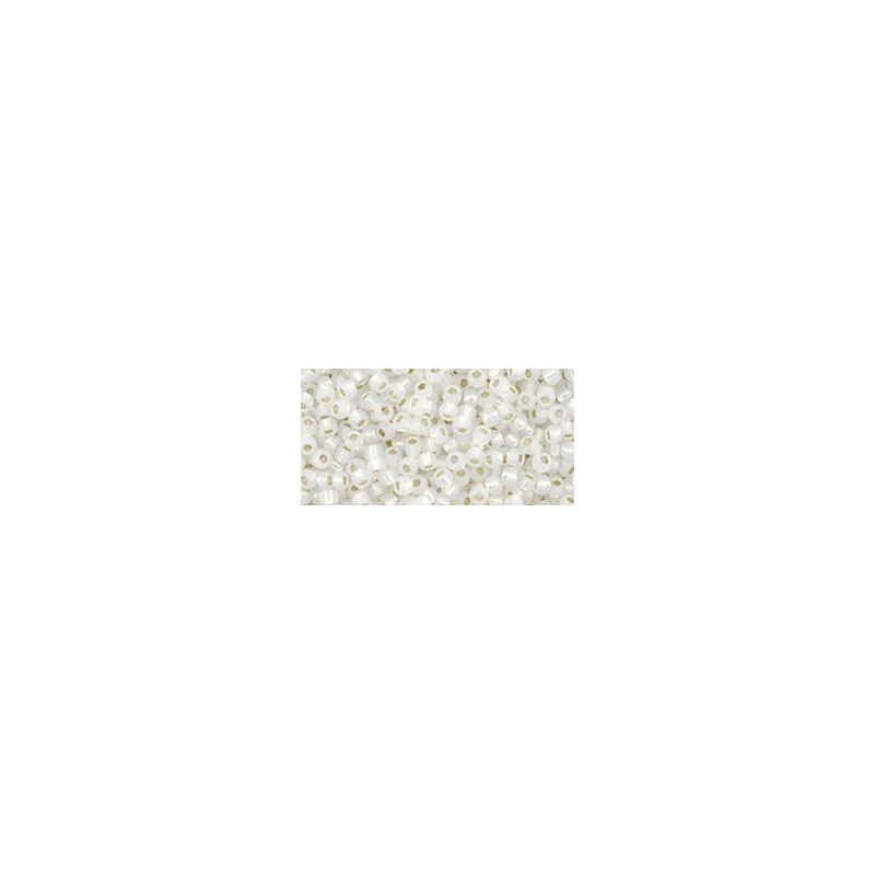 TR-11-27 Silver-Lined Peridot ТОХО Бисер