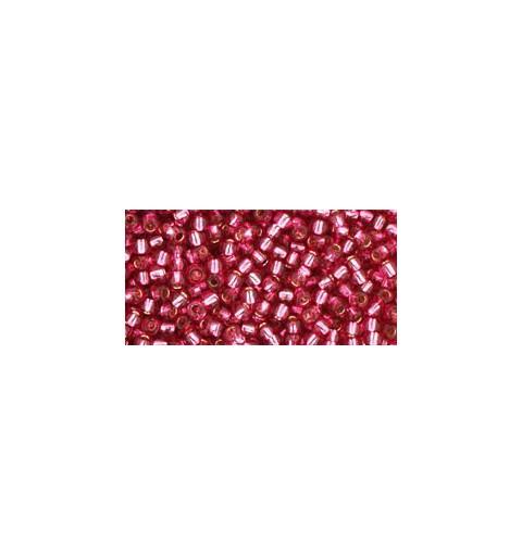 TR-11-2218 Silver-Lined Mauve TOHO Seed Beads