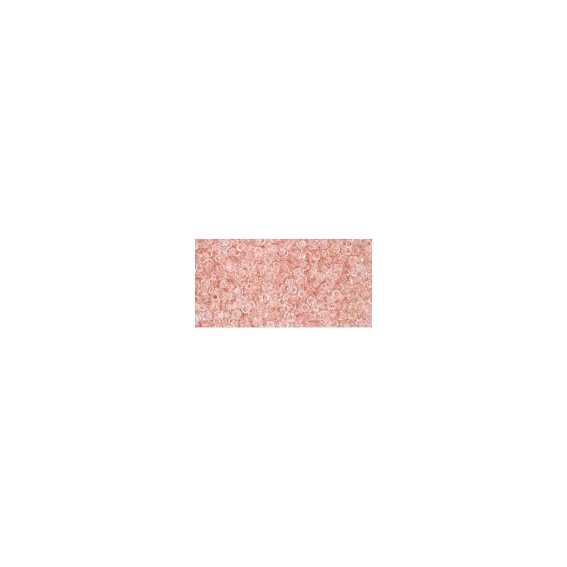 TR-15-7BDF Transparent-Frosted Teal TOHO Seemnehelmed